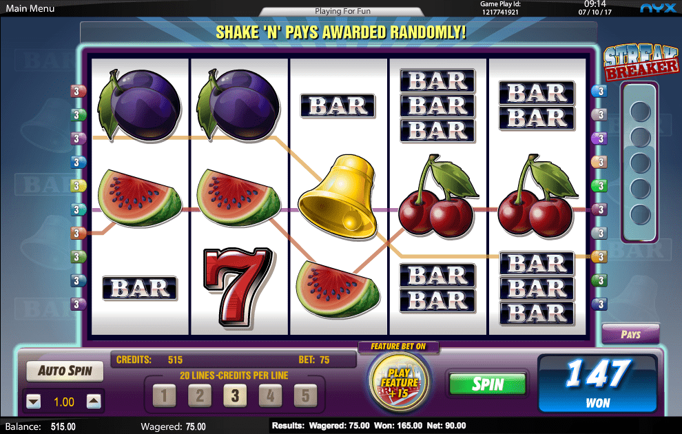 Jul 07, · Bars and Bells slot online was done especially for true fans of nostalgic Las Vegas casino experiences.They will adore the Amaya Gaming's casino game with a mix of the best of classic Vegas slots and the best in modern free slot machine.But it can be called fruit slot.Music and themed symbols are reflective of a simpler time.