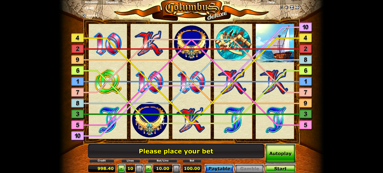 Slotmaschine Columbus Kostenlos Spielen